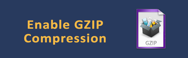 Enable GZIP